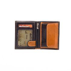 Leather Wallet  Zip Wallet by DERIBAZAAR on Etsy