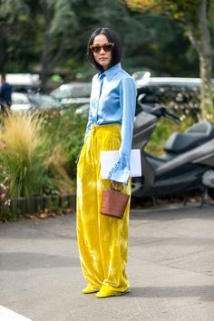 The Best Street Style at Paris Fashion Week- HarpersBAZAAR.com