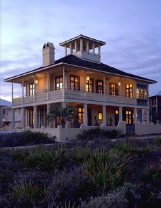 TWO story wraparound porch??? Yes please!