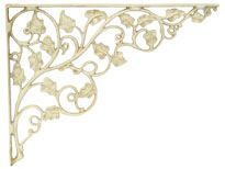 Bring the outdoors in with our white Ivy Bracket!