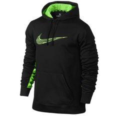 Nike KO Annihilator Hoodie - Men's - Dark Grey Heather/Game Royal