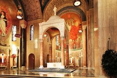 Baldachin Altar ~ Basilica of the National Shrine of the Immaculate Conception