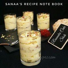 Rasmalai Cake Shots - sanaa's recipe
