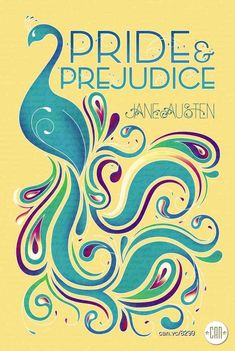 Pride and Prejudice | 25 Beautifully Redesigned Classic Book Covers / Le motif du paon & les couvertures de Pride and Prejudice