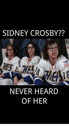 Slap shot - the Hanson brothers Caps Hockey, Hockey Rules, Flyers Hockey, Boston Bruins Hockey, Hockey Players, Ice Hockey, Slap Shot, Hockey Room, New England Patriots Football