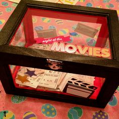 @J for PB's home theater - I like this the best, you can always open it up and reminisce.
