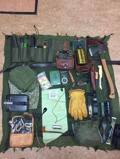 Some of my Bushcraft kit.
