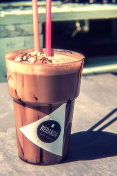 #iced #coffee #ice #cream #chocolate #happy