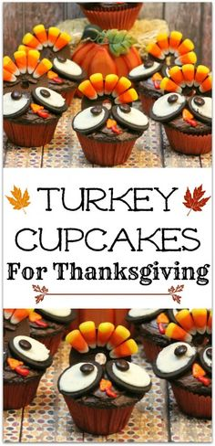 We love when you share the love!I am so excited about all of the cuteness out there for Thanksgiving right now.  As a kid I dreaded Thanksgiving because it was all about the day to eat turkey.  Luckily for my girls it's still about the turkey, but they come in all shapes and sizes.  Just look how cute these Thanksgiving Turkey Cupcakes {RECIPE HERE} from Virtually Yours are!   If you're ...continue reading