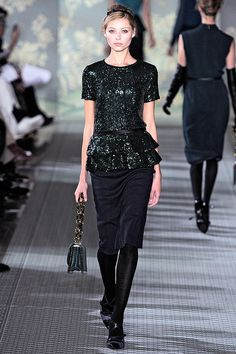 Tory Burch Fall/Winter 2012 collection.