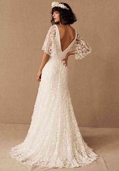 Fairy Wedding Dress, How To Dress For A Wedding, Garden Wedding Dresses, Lace Wedding, Forest Wedding, Gown Wedding, Indie Wedding Dress, Nice Wedding Dresses, Bhldn Wedding Dresses