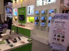 iDROID's attractions at CTIA Super Mobility 2015 in Las Vegas. iDROID's products at display and people showing deep interest in its smartphone products. #android #technology #idroid #smartphone