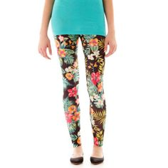 Sugar High Print Leggings  found at @JCPenney
