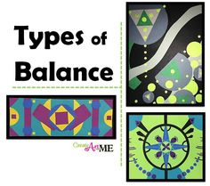 Types of Balance Art Lesson: excellent ArtEd blog