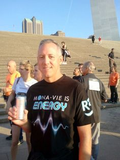 Bob Spinner - St Louis MO MORE Project 5k -  MonaVie / MORE Project Giving Back