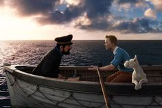 Tintin le secret de la Licorne le film.
