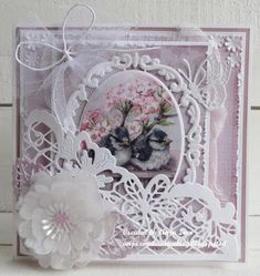 Marianne Design, Big Shot, Flower Cards, Craft Tutorials, Scrapbooks, Christmas Cards, Daisy, Card Making, Paper Crafts