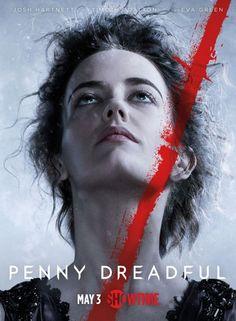 Penny Dreadful estrena su segunda temporada en Mayo y nos adelanta varios posters como éste de Eva Green