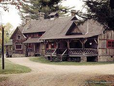 camps in the adirondacks | Great Camp Sagamore