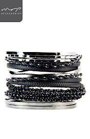 TWISTED BANGLE PACK Bangles, Bracelets, Fashion Styles, Style Me, Silver, Jewelry, Bangle Bracelets, Bangle Bracelets, Jewellery Making