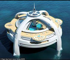 Cool Amazing Blend: Project Utopia the Futuristic Yacht Island