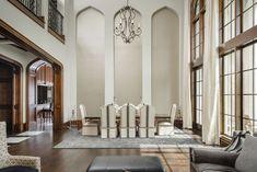 English Tudor | Portfolio | Sims Luxury Builders How To Make Building, Home Living Room, Living Area, Double Staircase, English Tudor, Tudor House, Great Rooms, Custom Homes, Luxury Homes