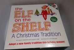 Hallmark 2014 Elf on the Shelf Blue Eyes Boy Story Book Christmas Tradition NEW