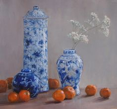 artist Kathleen Dunphy, 'Complements' Oil