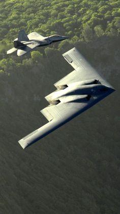 Military Northrop Grumman B-2 Spirit Bombers Stealth B-2 Spirit: