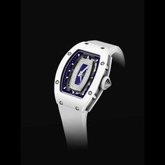 Another watch to add to the wish list - seriously stylish @richardmilleeu RM 07-01 Polo Club Saint Tropez ceramic ATZ and titanium model available at the #RichardMille boutique at #Harrods #ladieswatch #luxurywatch #swisswatch #shopping #style