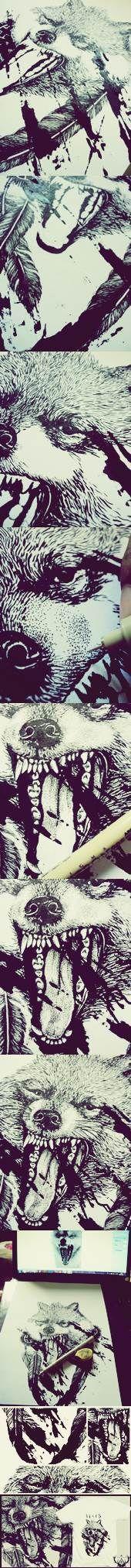 Wolf tee2