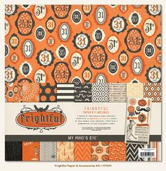 My Mind's Eye - Frightful Collection - Halloween - 12 x 12 Paper Kit at Scrapbook.com