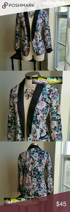 .LC..LAUREN CONRAD...FINAL PRICE ... BLAZER ....ADDING INFO SOON ...EXCELLENT CONDITION  ....NORMAL WEAR...NO FLAWS....GORGEOUS  ....LIGHT WEIGHT ..LOOSE FEEL..TUXEDO STYLE ....NO OFFERS... LC Lauren Conrad Jackets & Coats Blazers