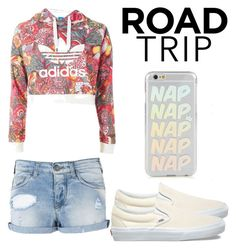 """Road Trip"" by naviere05 on Polyvore featuring Armani Jeans, Vans and Topshop"