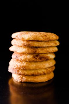 Snickerdoodle cookies are the happiest of all cookies.  Try saying the word snickerdoodle ten times fast without smiling!  Such a happy cookie deserves a si