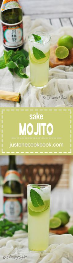 Sake Mojito | Easy Japanese Recipes at JustOneCookbook.com