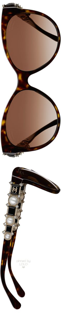 143e77aef7 Chanel Butterfly Bijou Tortoise Sunglasses