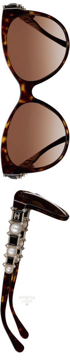 Chanel Butterfly Bijou Tortoise Sunglasses | LOLO❤