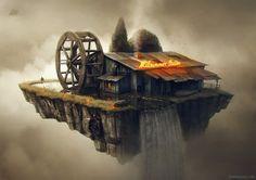 Digital Paintings of Surreal Islands – Fubiz™