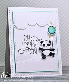 Oh Happy Day from Joyful Creations with Kim using stamps and dies from Mama Elephant.