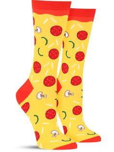 Pizza Toppings Socks