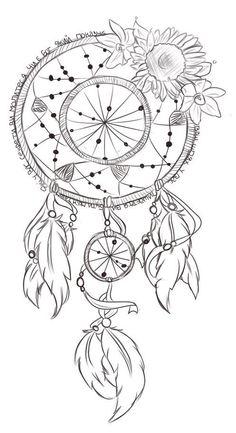 Desenho perfeito para fazer uma tatuagem Filtro dos