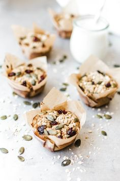 Fast & easy breakfast muffins - Aimee Ketogenic Home Paleo Dessert, Paleo Sweets, Healthy Desserts, Healthy Baking, Healthy Food, Healthy Recipes, Easy Breakfast Muffins, Breakfast Dessert, Low Carb Breakfast