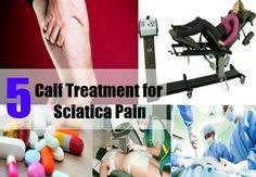 Calf Treatment for Sciatica Pain