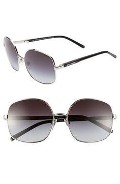 Burberry 56mm Wire Rim Sunglasses