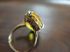 Gold Rings, Gemstone Rings, Antique Jewelry, Bling, Gemstones, Crystals, Antiques, Decoration, Dekoration