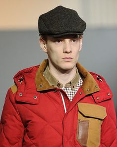 Driving caps, flat caps, and ivy caps are all over the runway this fall. This one here is from Junya Watanabe. I always liked the driving cap as a kid in elementary school, but all the other kids called me an old man haha. I guess I was really ahead of my time!