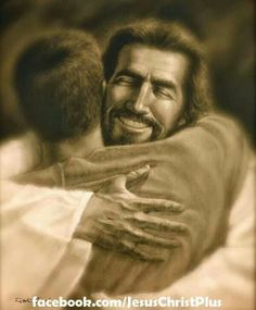 Hugs for You Jesus and Please give my Sweet Grandson Big Hug.  Amen