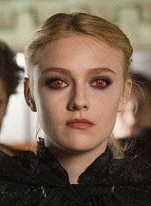 Get red contacts like Jane of the volturi
