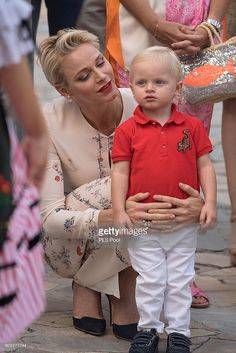 Princess Charlene and Prince Jacques of Monaco attend the annual traditional 'Pique Nique Monagasque' on September 10, 2016 in Monaco, Monaco.  (Photo by PLS Pool/Getty Images)